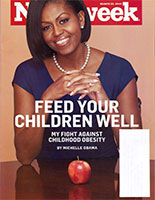 ... the cover story of Newsweek, as she continues to personally carry